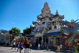 Visiting Visiting Linh Phuoc Pagoda